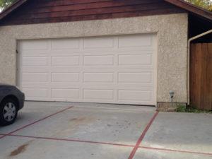 Almond Long Panel Solid Door