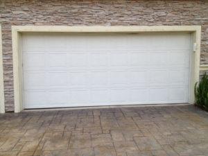 White Short Panel Solid Door