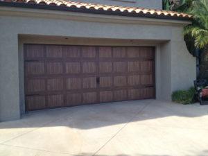 Accents Garage Door Carriage Solid