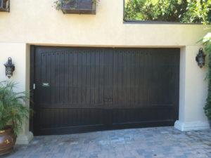 Custom Wood With Scribe Door