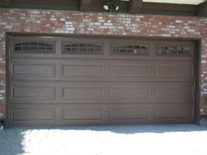 Brown Long Panel Cascade Windows