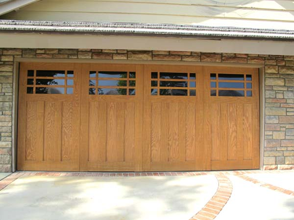 Custom Wood Garage Doors Los Angeles Custom Wood Sectional