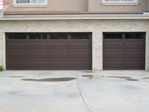 Brown Long Panel Plain Lite Windows