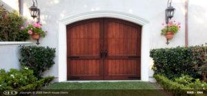 RHD wood Garage Door 064