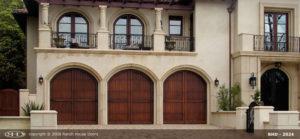 Spanish Style Wood Door Vertical Planks