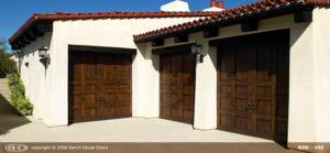 RHD wood Garage Door 247