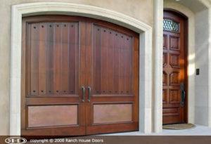 RHD wood Garage Door New 12