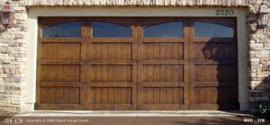 Wood Garage Door RHD 278