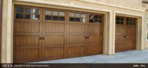 Carriage Semi Custom Wood Door