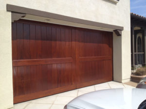 Mahogany Vgroove Custom Door