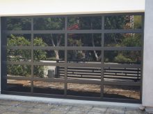 Selegant Black Lami Glass Door