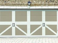 2 Tone Steel Carriage Door