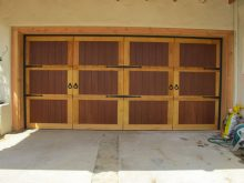 RHD Two Toned Wood Door