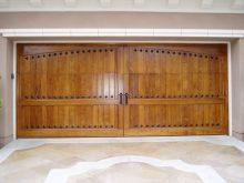 Clavos Big Arch Wood Door